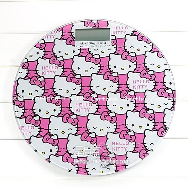 """Hello Kitty Electronic Personal Scale -maybe this would make the whole """"ordeal"""" more tolerable...ha!"""
