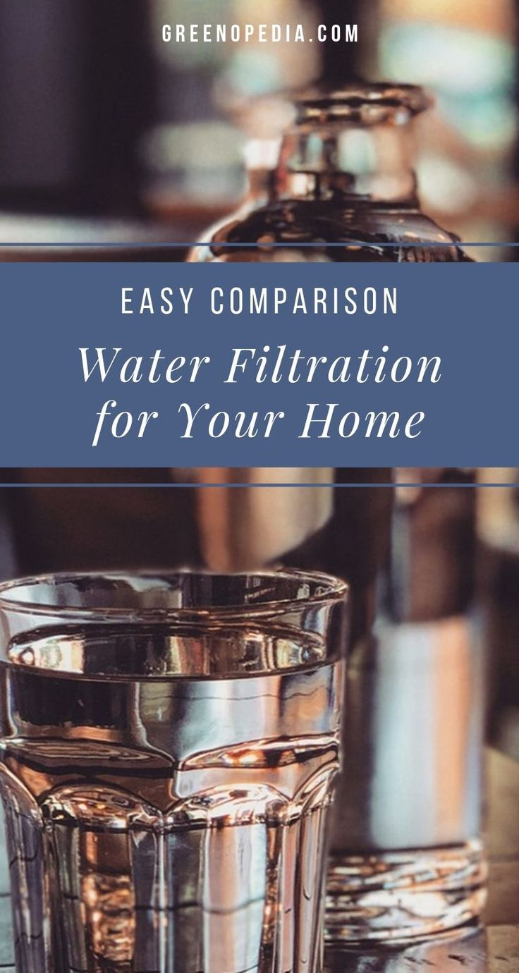 Water Filter Comparison Which Is Best For Your Home Water