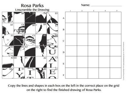 Pop Art Rosa Parks ***FREE*** art integration project for kids.