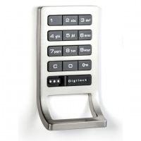 Digilock DK-ATS Shared Use Electronic Keypad with Locker Pull :: Keyless Entry Door Locks from GoKeyless