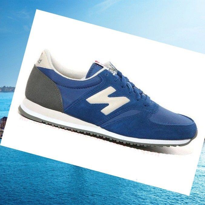 New Balance 420 Shoes Men Classics Blu Royal Royal/White Grey HOT SALE! HOT PRICE!
