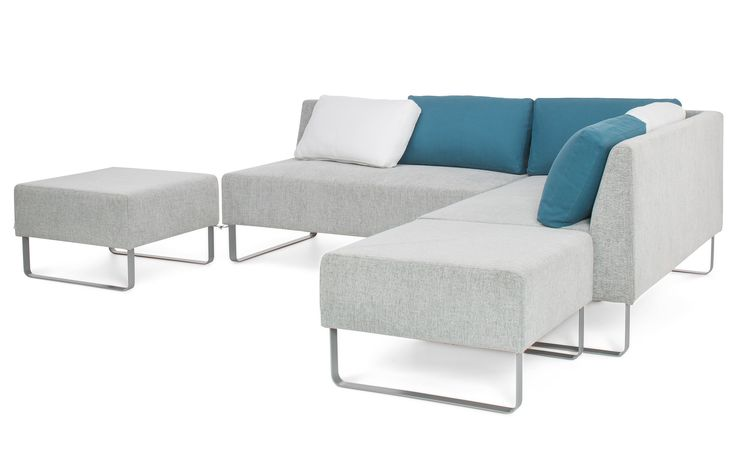 AWA corner sofa bed - Inside the backrest pillows you can find sleeping pillows, duvets and blankets.