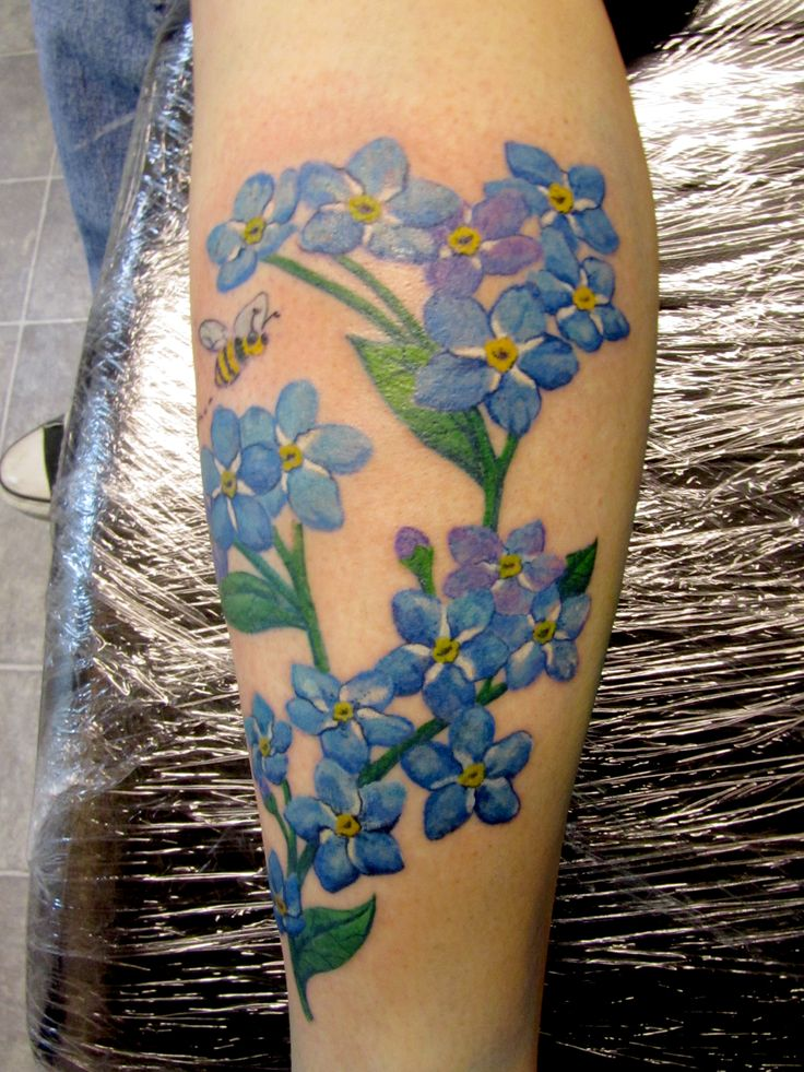 Forget-Me-Not #Tattoo | Tattoo's | Pinterest | Tattoos and ...