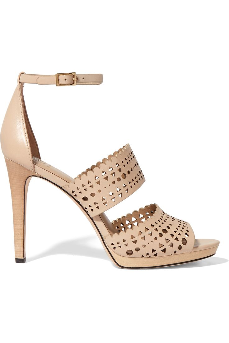 Tory BurchLaser-cut leather sandals