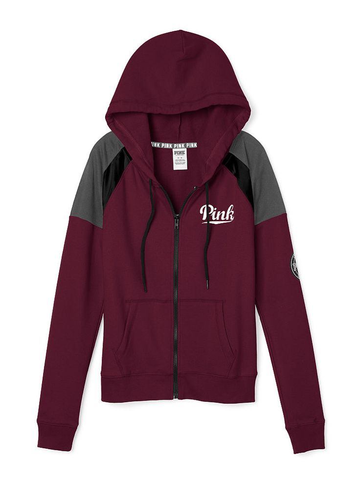 Perfect Full Zip Hoodie - PINK - Victoria's Secret | My Style ...