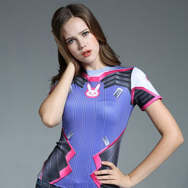 Girls Clothing Boutique T-Shirt on Girly Girl の To Alice.Girly Dva Game Printing T-Shirt Cosplay Tight Tee Gg229 Alternatively stay bang up to date with the latest retro-look , adding 80's style glamour with a 24st Century twist.