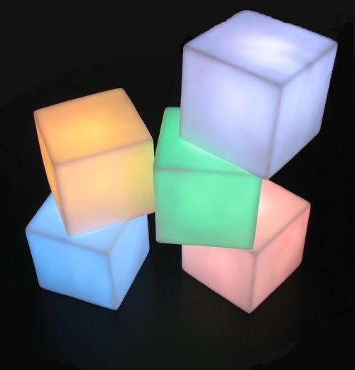 LED cube 7 colors