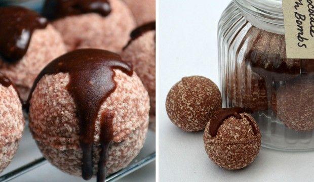 Hydratační kakaové bomby do koupele – návod na výrobu