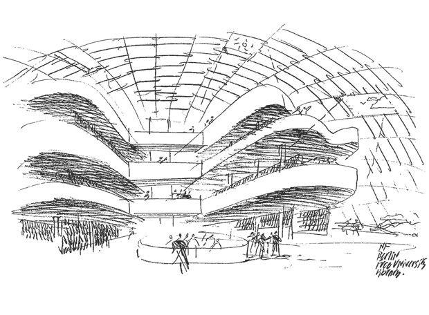 Concept SKETCH Famous ArchitectureArchitecture