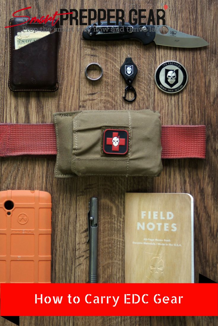 How to Carry EDC Gear - Smart Prepper Gear