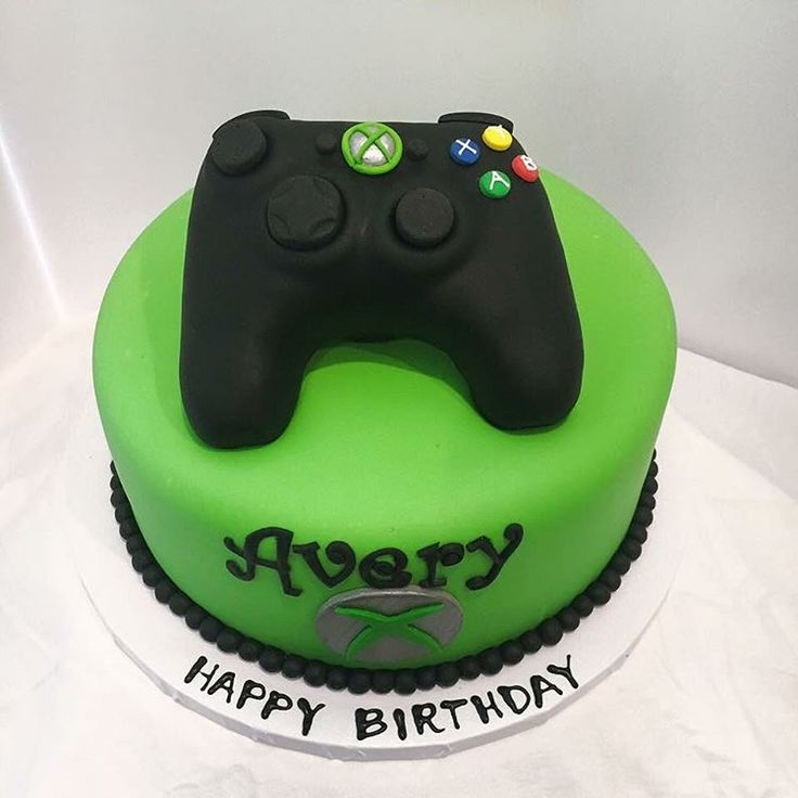 25 best ideas about xbox cake on pinterest video game for Decoration xbox one