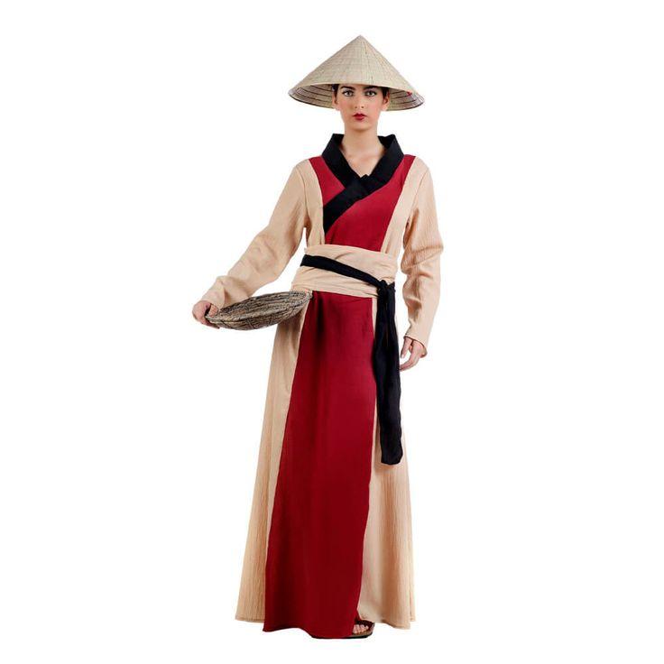 Disfraz de china clásica para mujer | Comprar