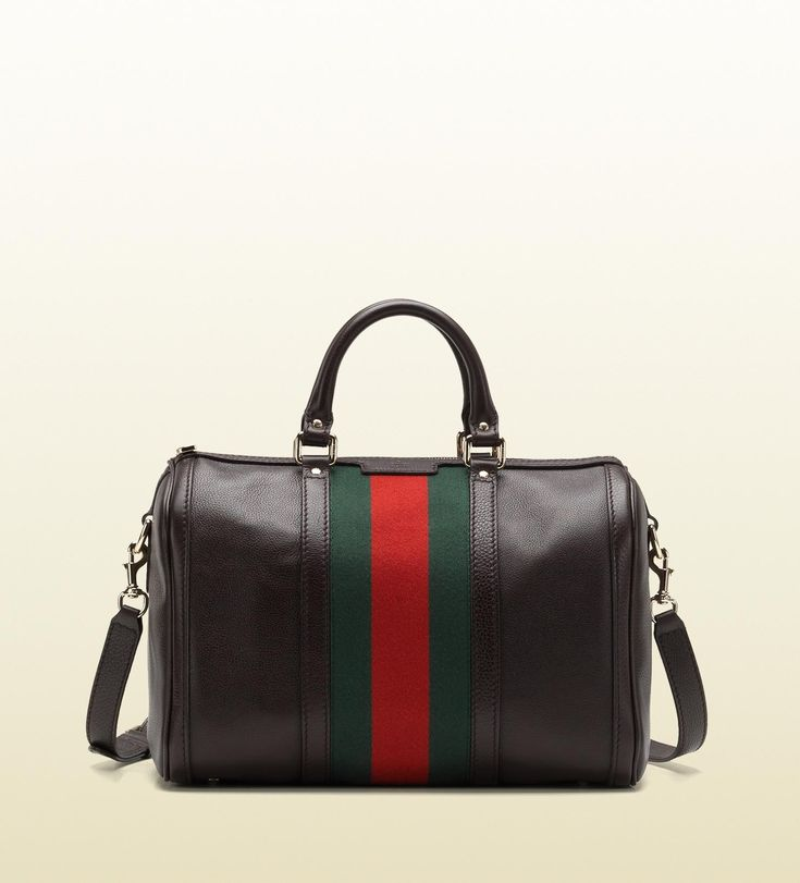 vintage web boston bag ♥ Gucci