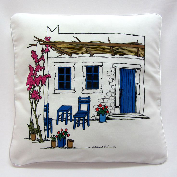 Bodrum Yastık / Marin Dekorasyon, Ev Dekorasyon, Tekne Dekorasyon  /  Bodrum Pillow, Marin decorations, home decorations, yacht decorations  http://www.nyn-yucelerkal.com/asp/group/9/Bodrum