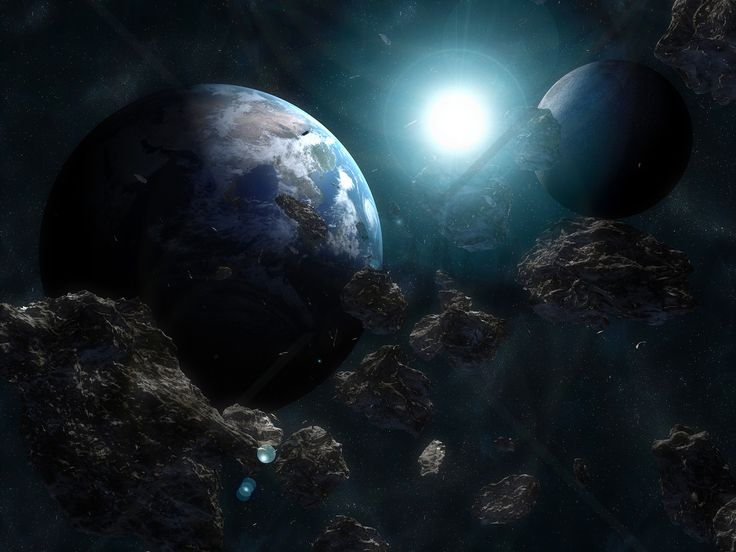 Space Scene - Fototapeter