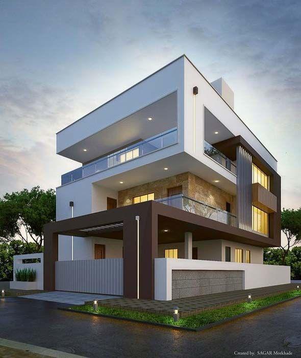 Modern House Bungalow Exterior Design