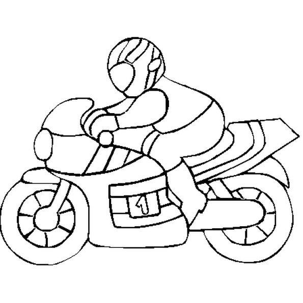 Coloriage De Moto A Imprimer Cars Coloring Pages Embroidery Neck Designs Handcrafted Tile