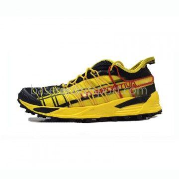 La Sportiva Mutant Amarilla. Las Sportiva Mutant en color amarillo, una zapatilla muy estable y versátil ideal para carreras de montaña, ideal para quienes quieran una zapatilla rápida para imprimirle velocidad. #running #trailrunning #runner #ofertas #descuentos #free #sports #moda #trailrunner #lasportiva #adidas #nike