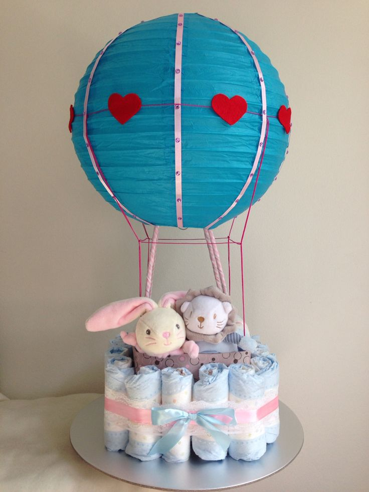 hot air balloon diaper cake tutorial free printables cas free printables and the o 39 jays. Black Bedroom Furniture Sets. Home Design Ideas