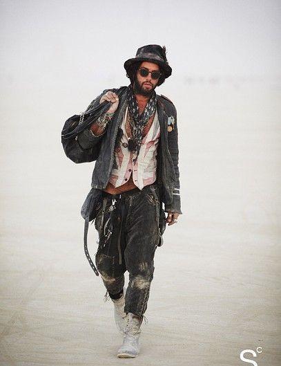 Street Style, den Sie gesehen haben müssen: Die allererste Burning Man Edition – Burning Man