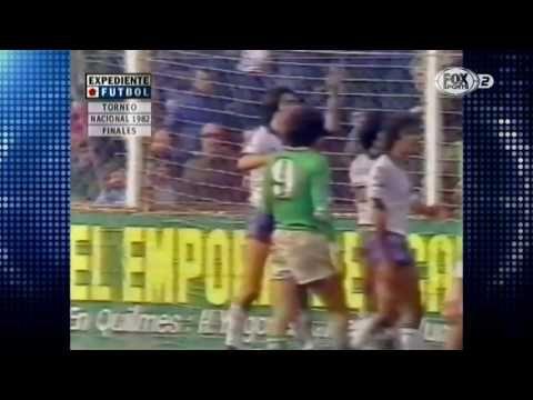 20/06/1982. Nacional 1982. Final. Quilmes - Ferrocarril Oeste (Resumen)
