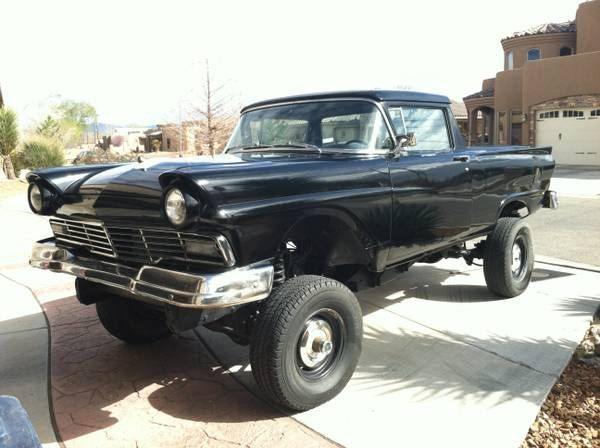 1957 ford ranchero 1957 ford ranchero 1957 ford ranchero 4x4 one of a kind always gets a i1957 ford rancheros pinterest cars 4x4 and cars for