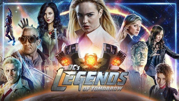 A Cw Divulgou O Trailer Oficial Da Quinta Temporada De Legends Of
