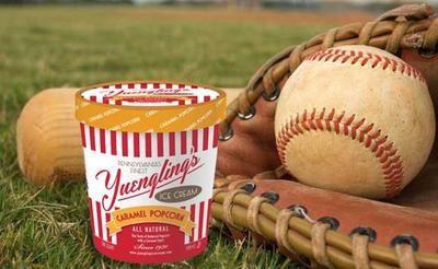 Yuengling's Caramel Popcorn Ice Cream