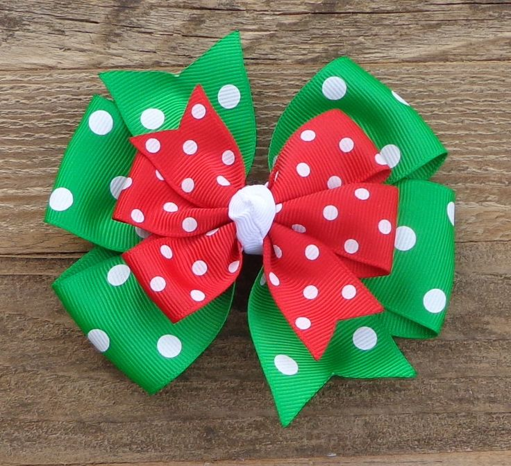 Christmas Boutique Bow~Holiday Hair Bow~Christmas Hair Bow~Red and Green Hair Bow~Basic Hair Bow~Christmas Boutique Hair Bow~Christmas Bows~ by LizzyBugsBowtique on Etsy https://www.etsy.com/listing/474714744/christmas-boutique-bowholiday-hair
