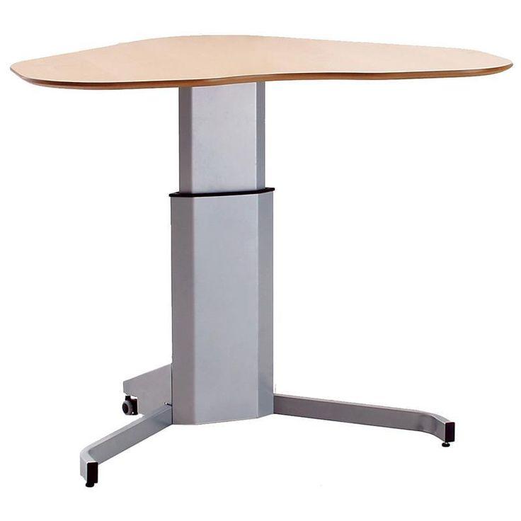 17 best images about office furniture ergonomics on for Motorized adjustable standing desk