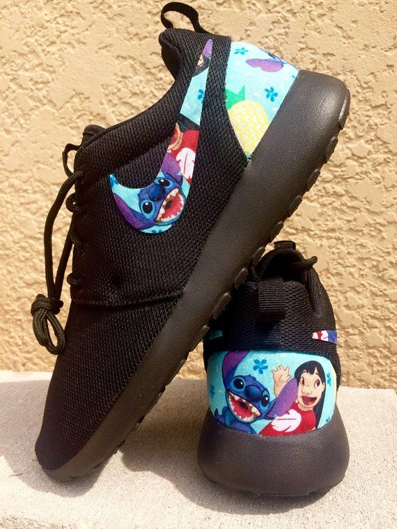 and custom shoes Nike Lilo 2019Disney Roshe in Stitch MSUGqVpz