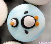 Pinguin cupcake