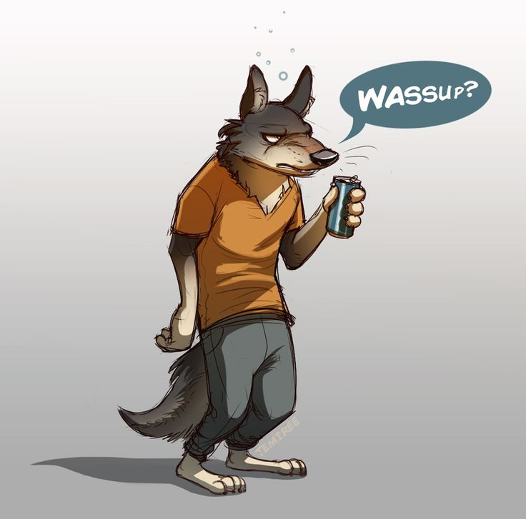 Zootopia Wolf by Temiree.deviantart.com on @DeviantArt  I thought this fella in the background of the Zootopia trailer looked pretty cool, so I decided to draw him! I actually have no idea if this is remotely close to his personality, this is just my interpretation. If I'm completely wrong, I'll draw him again when Zootopia comes out!  (I assume this guy is a wolf? If I'm wrong, let me know!) #anthro #anthropomorphic #cel #colored #coloured #disney #fanart #shaded #shading #wolf #zootopia