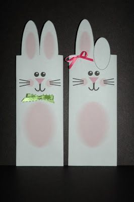 I have made these bunny wrappers to share with all of you! These fit around a 1.55 Hershey candy bar, but you can make it bigger or small...