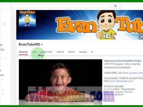 Anak Kecil Umur 8 Th Ini Menghasilkan Uang 15 Milyar dari YouTube Cuma 1 Th