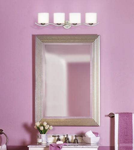 Lavender bathroom wall color. | Lamps Ideas | Pinterest