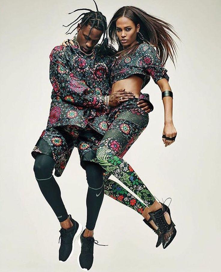"""""""Travis Scott X Joan Smalls for Nike Lab"""""""