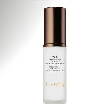"Hourglass Makeup Mineral Primer | Says my friend, a MUA: ""OMG their primer ( #1 primer at Sephora) Veil is an exquisite mineral primer for the complexion. SPF 15, It calms down redness instantly, hydrates, absorbs excess oil, an preps the skin for a flawless make up application."""