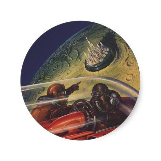 Vintage Sci Fi Illustrations Retro Science Fiction: 36 Best Images About Art & Design On Pinterest
