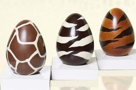 Chocolate Easter Eggs by Roberto Cavalli - Paperblog