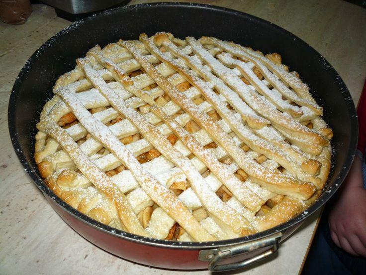 Tarta cu mere(de post)