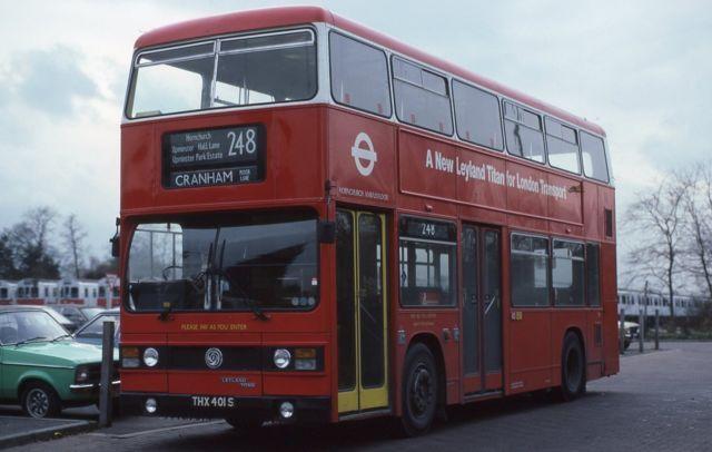 London Transport T1 THX401S Leyland Titan Park Royal Bus Photo   eBay