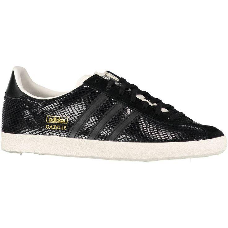 Gazelle Adidas Noir Pailleté