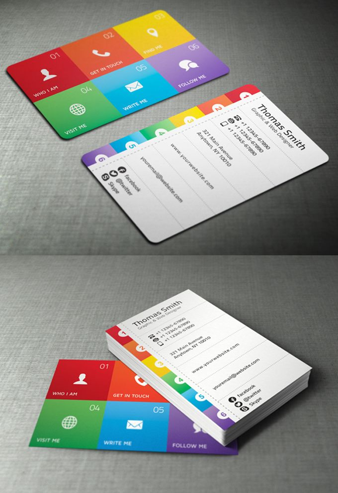 Business Card Designs U2013 30 Best Ideas For You