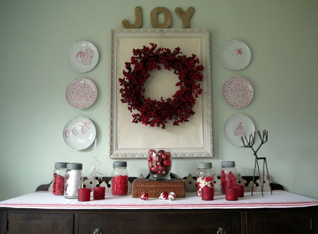 Sense and Simplicity: It's Christmastime in our Dining Room