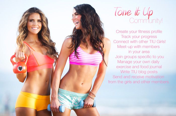 Tone It Up - Welcome to the new Tone It Up Community!