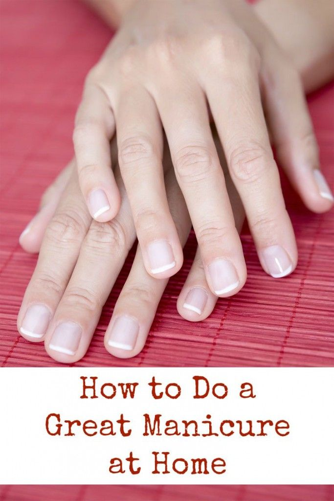 Home Nail Designs Shellac Nails Uk: How To Do A Great Manicure At Home