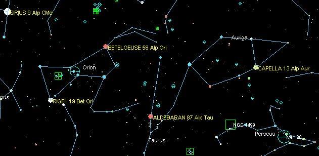 constelacion perseo localizacion - Buscar con Google