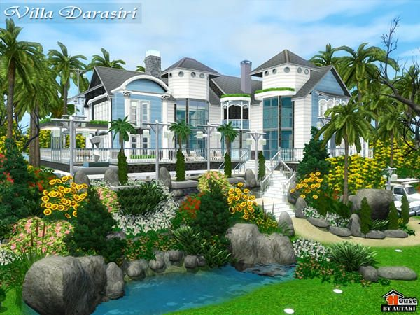 Darasiri Luxury Villa By Autaki   Sims 3 Downloads CC Caboodle ·  OrganizationHouse DesignSims ...