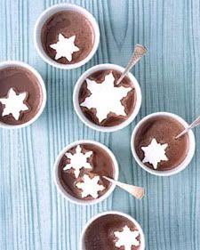 {Christmas } snowflake marshmallows in hot chocolate mmm xmas kids food